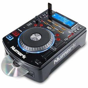 Numark NDX500 – Platine Multimédia USB/CD et Contrôleur de Logiciel avec Jog Wheels Tactiles, Interface Audio, Commandes de Fader à Long Débattement et Préconfiguration pour Serato DJ