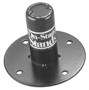 On-Stage Stands SSA1375 Embase pour enceinte pour montage sur pieds 16 mm