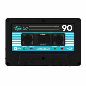 Reloop Tape 2 – Enregistreur Audio Portable à Bande rétro, contrôle du Gain d'entrée avec rétroaction Bi-LED, WAV ou MP3