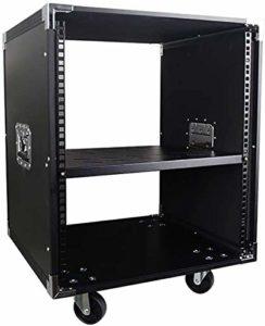 Route Audio Case Recording Studio Mixer Rack Cabinet Open Frame Component ATA Espace Rack Cas for Les Musiciens et DJ OP (Size : 12U)