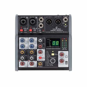 Soundsation MIOMIX 202UFX Mixeur avec interface audio
