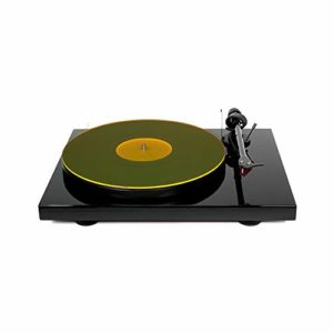 Tapis de table tournante en acrylique Hudson Hi-Fi | YellowLit | LP Slipmat