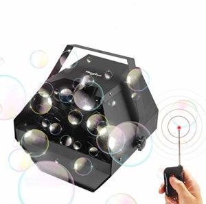 Theefun Machine de Bulle Automatique à Distance sans Fil Professionnelle avec Sortie élevée, mécanisme de soufflage Automatique pour Une Utilisation extérieure ou intérieure