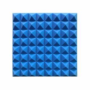XIN CHANG LWH 30PCS de Haute qualité Acoustique en Mousse Panneaux Carreleurs, Isolation Acoustique Coton Dampening Mousse Studio Studio KTV Traitement Soundproof (Color : Blue)