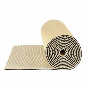XIN CHANG LWH Carrelage en Mousse Acoustique, insonorisant Panneaux de Traitement Home Studio Son Traitement insonorisant Panneaux acoustiques Coton, épaisseur: 5 cm (Color : White)