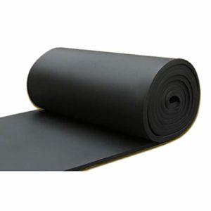 XIN CHANG LWH Ignifuge insonorisant Coton, Panneaux acoustiques Noir Studio Mousse insonorisation Panneaux for Home KTV Chambre Studio, Surface: 10 Mètre carré (Color : Black)