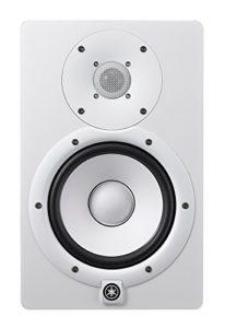 Yamaha HS7 – Enceinte de monitoring studio amplifiée – Enceinte de mixage pour DJ, musiciens et producteurs – Blanche