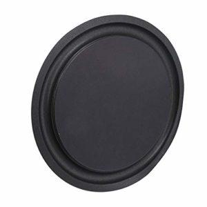 Yibuy Anneau de haut-parleur pour basses Noir 20,3 cm