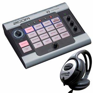 Zoom V3 Vocal Processor Appareil d'effet + casque Keepdrum
