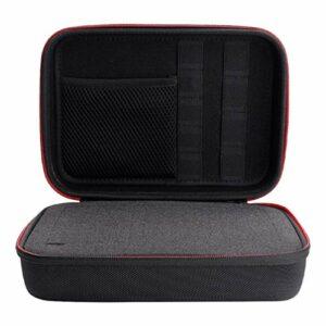 ABOOFAN Étui de Protection pour Enregistreur Eva Zipper Transportant Un Étui Rigide Étui pour Enregistreurs Vocaux Numériques Compatible avec Zoom H1 H2n F8
