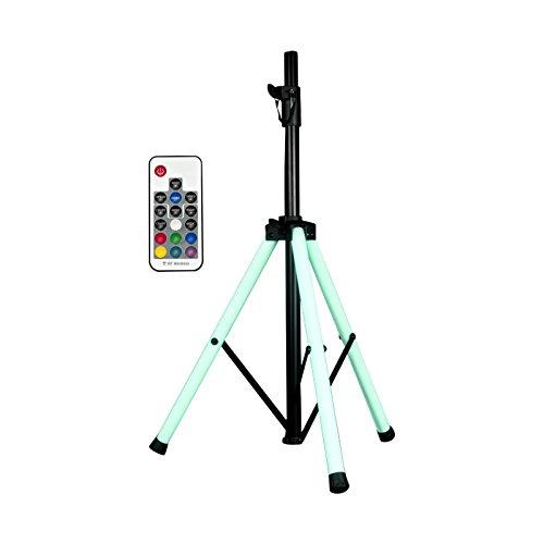 adj Trépied pour Enceinte PA Color Stand LED 1163000013 réglable en Hauteur, avec télécommande 1 pc(s)