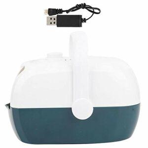 Alinory Créateur de Bulles intéressant, souffleur de Bulles Portable, Machine à Bulles Automatique Facile à Utiliser, avec poignée Bon Cadeau pour Enfants(Green)