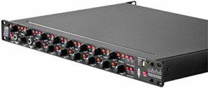 Art tubeopto8Préampli micro Ampli Guitare à Lampes à 8canaux avec interface optique adat