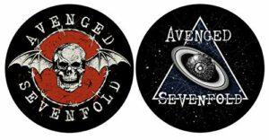 Avenged Sevenfold DJ SLIPMAT Lot de 2 tapis en feutre Waking The Fallen Eye Planet