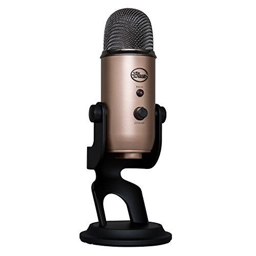 Blue Microphones 533 Yeti Microphone USB Cuivre Aztèque