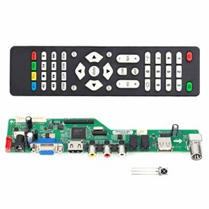 Carte d'entrée de contrôleur de Pilote de Moniteur Audio Ladieshow Support de télécommande LCD Écran LVDS de 7 à 55 Pouces