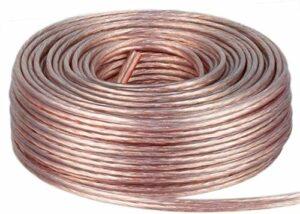 DCSk 25m – 2 x 1.5mm² – Câble Audio pour Enceintes – Câble HP Haut-Parleur en Cuivre pour HiFi et Hi-FI Embarquée – Fabrication Allemande