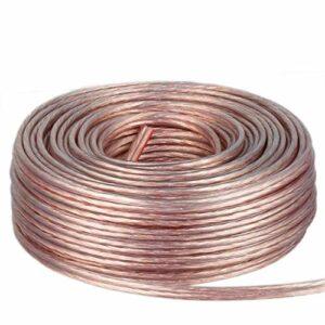 DCSk 50m – 2 x 1.5mm² – Câble Audio pour Enceintes – Câble HP Haut-Parleur en Cuivre pour HiFi et Hi-FI Embarquée – Fabrication Allemande
