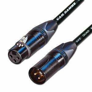 Designacable Van Damme STARQUAD Câble d'extension connecteurs Neutrik XLR plaqué or vers XLR microphone Longueur personnalisée – ASIN parent