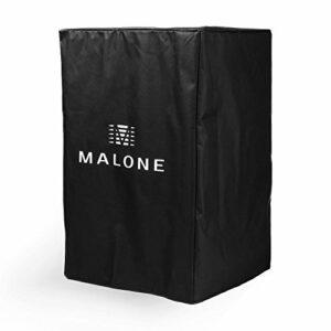 Malone PA Cover Bag 15 – Housse de Protection pour Enceintes Sono 38 cm (15″) Nylon – Noir