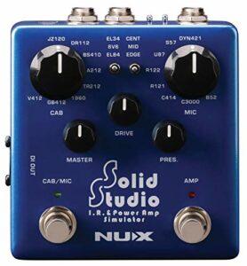 NUX – Simulateur d'amplificateur de puissance infrarouge solide