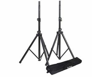 Onstagestands SSP7950 Pack de Supports pour enceinte avec pieds réglables 11 à 203 cm + Housse