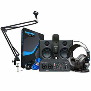 Presonus Audiobox 96 Ultimate Bundle Kit d'enregistrement avec bras articulé Keepdrum