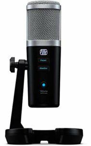 PreSonus Révélateur – Microphone USB avec traitement vocal StudioLive à l'intérieur.