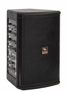 Proel FREEPASS6 75W Noir Haut-Parleur – Hauts-parleurs (2-Voies, avec Fil, 75 W, 75-20000 Hz, Noir)