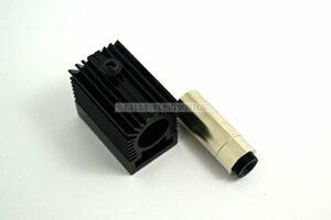 Q-baihe 12x 30mm 5,6mm To-18diode Laser boîtier en métal avec lentille 200Nm-1100nm avec dissipateur thermique