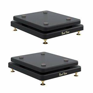 QYQDD 1 Paire Surround Speaker Stand, 2pcs Audio Shelf, Une Meilleure Qualité Audio, for Surround Et Haut-parleurs sur Les Rayons (Color : B, Size : 20 * 25cm)