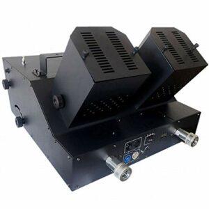 Skysep Automatique DMX-512 Machine à Confettis Cannon Launcher Lanceur de Confettis Professionnel Shot D'occasion pour Mariages Fêtes Halloween Noël 200W Ajustable