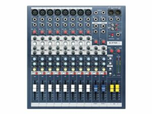 Soundcraft EPM8 haute performance 8 canaux Audio Mixer 8 + 2 canaux