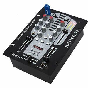 Table de mixage BOOST DJM150USB-BT2 voies 5 canaux+ Fonction Bluetooth