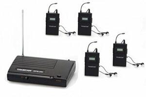 Takstar okymrfed5 wPM wireless monitor uHF 200–system in-ear stereo émetteur avec micro et headphone récepteur (1 transmetteur et 4 récepteurs)