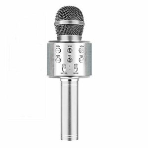 TIUENHAVU Microphone Bluetooth Karaoke Wireless Microphone Professiona Haut-Parleur Portable Microfone Player Singing Recorder Mic YS