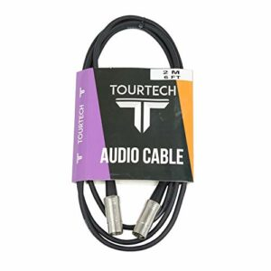 Tourtech Câble MIDI en métal 2 m