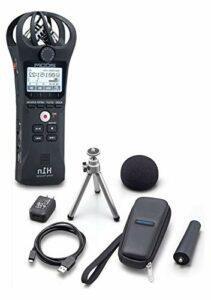 Zoom H1n/APH-1n Kit d'accessoires pour téléphone portable avec pare-vent, adaptateur pour microphone, enregistreur et bien plus encore