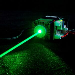 1W 520Nm 1000mW vert gazon Diode laser point Module 12V TTL W/FAN refroidissement–longtemps travaux