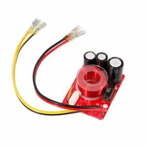 2 pcs audio haut-parleur médiante crossover 80w 4-8Ohm séparateur de fréquence de milieu de milieu de médiante de fréquence réglable de fréquence de voiture de voiture DIY ( Couleur : With line )