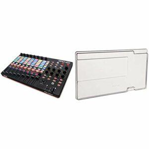 AKAI Professional APC40 MKII – Contrôleur MIDI pour Ableton Live, USB Complet et Compact avec 40 Pads Retroéclairés & Decksaver DS-PC-APC40MK2 Coque de protection pour Akai Pro