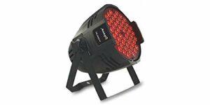 Audibax Orlando 81 Plus Spot LED 54 LEDs x 1,5 W RGB 3 en 1 Aluminium