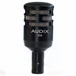 Audix D6 Microphone dynamique pour Grosse caisse