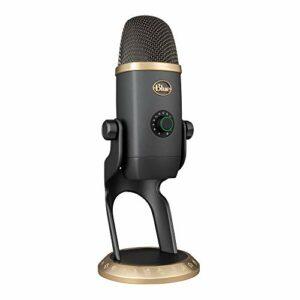Blue Yeti X World of Warcraft Édition Professionnelle avec Effets Blue Voice, Microphone USB pour le streaming de jeu avec les Préréglages Warcraft et Échantillons Audio Hd Exclusifs