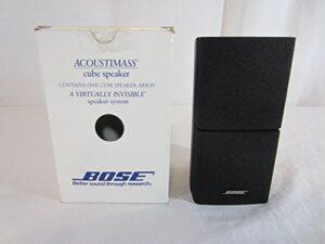 Bose Acoustimass Direct/Reflecting Haut-parleur Noir