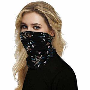 Briskorry – Bandana unisexe – Protection anti-poussière – Protection anti-UV taille unique c