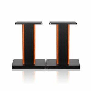 bxyxj Pied d'enceinte, 2 pièces de 5,9 à 35,4 Pouces, Supports de Moniteur Support d'étagère Audio, Son Surround et Haut-parleurs d'étagère de Livre Support de Support Audio. (Color : A, Size : 60cm)