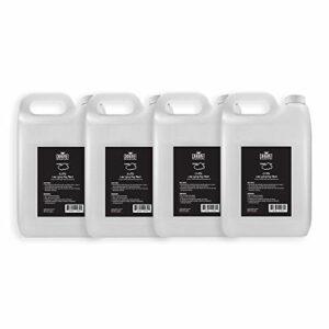Chauvet Lot de 4 fluides antibrouillard bas niveau 5L pour faible fumée Machine à effet glace sèche