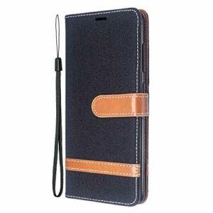 Coque pour Galaxy A51 Antichoc étui Rabat Cuir Case Portefeuille TPU Gel Bumper Silicone Wallet Cover Aimant Housse pour Samsung Galaxy A51 – ZIBF030256 Noir