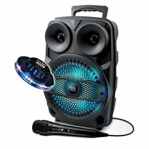 Enceinte KARAOKE ENFANT smartphone Autonome 200W DJ SONO Koolstar LED micro/Fonction BT/USB/AUX/ + OVNI